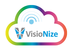 VisioNize® logo – Eppendorf digital platform for onboard-devices like the bioreactor control system SciVario® twin