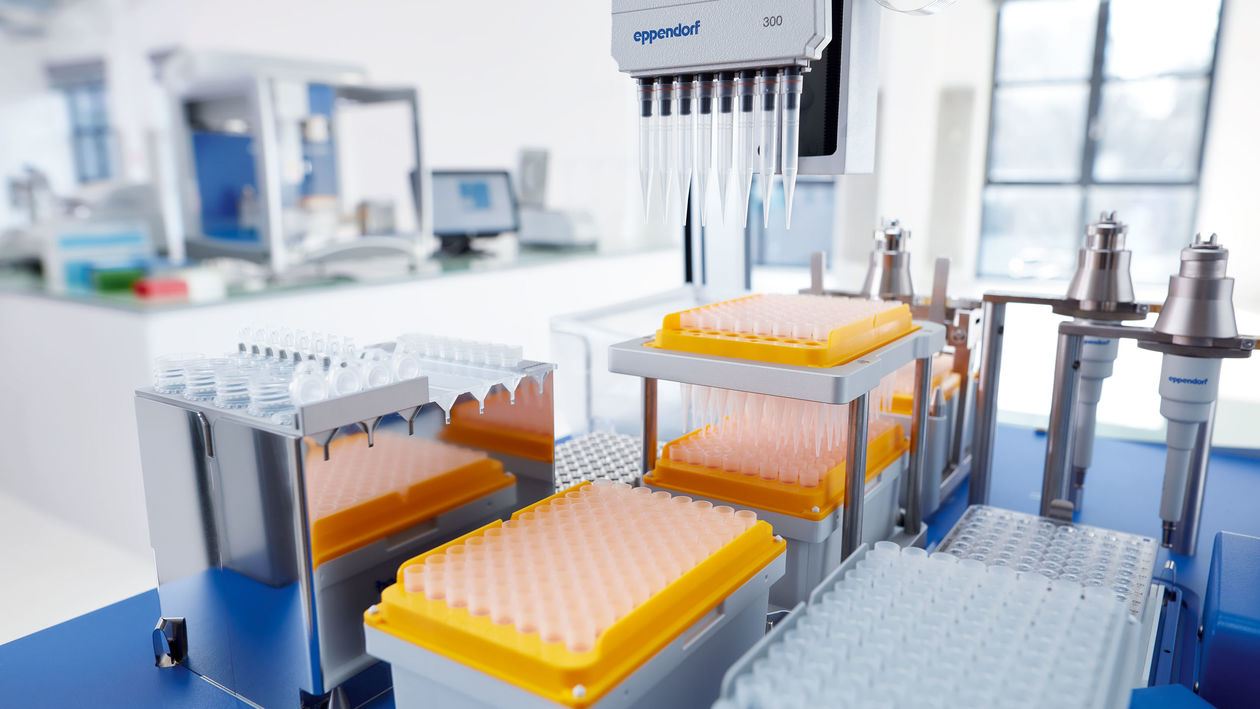 Automated pipetting solution in vaccine development