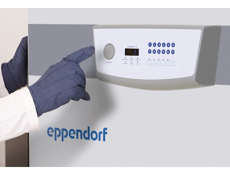 Eppendorf CryoCube F570 ULT freezer with automatic vent port