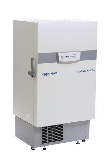 Eppendorf CryoCube F570 ULT freezer with water-cooling for storage of lab samples