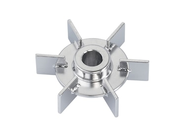 Image – 6-Blade Rushton-Type Impeller OD 46 mm, ID 8 mm