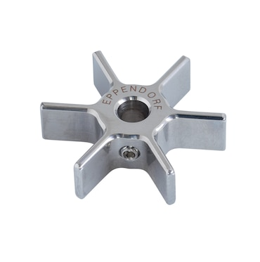 Image – 6-Blade Rushton-Type Impeller OD 30 mm, ID 5 mm