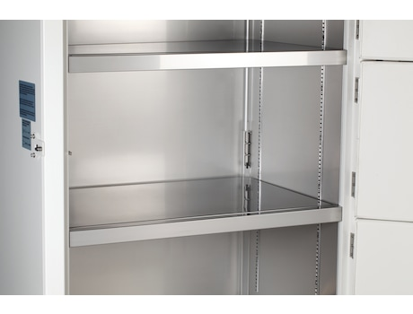 Eppendorf ULT freezer with steel interior for easy cleaning