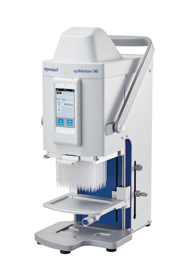 semi-automated electronic pipette for parallel 96 channel microplate processing (without iPod<sup>&reg;</sup> controller)