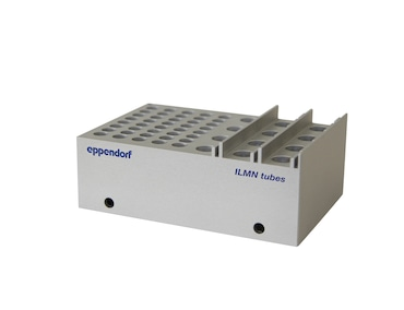 Rack for single tubes, 40 x ø 8.4 mm and 12 x ø 11.2 mm, transportable, autoclavable