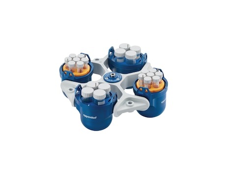 Centrifuge 5910 R, refrigerated, with Rotor S-4x400, 230 V/50 – 60 Hz, incl. round buckets and adapters for 5 mL/15 mL/50 mL conical tubes