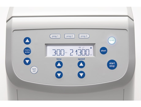 Image – Centrifuge 5420 display