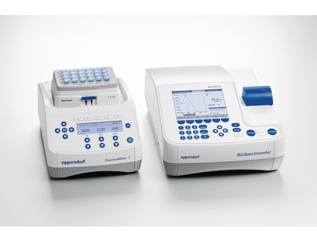 Image – Eppendorf ThermoMixer C with Eppendorf BioSpectrometer kinetic