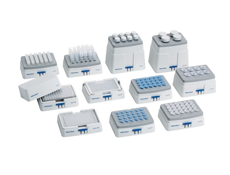 Eppendorf SmartBlock family: Different formats for different tube sizes