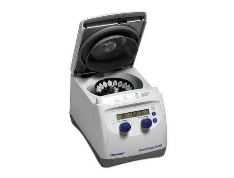 Centrifuge 5418, non-refrigerated, with Rotor FA-45-18-11 and rotor lid, 230 V/50 – 60 Hz