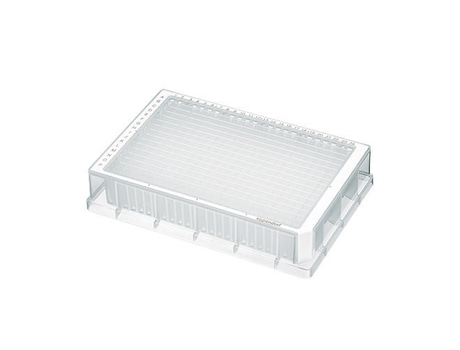 Deepwell Plate 384/200 µL, wells clear, 200 µL, PCR clean, white, 40 plates (5 bags × 8 plates)