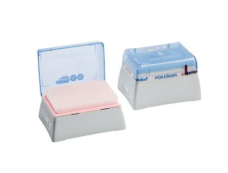 Image – epT.I.P.S. 384, Dualfilter, 100µL, 20µL, PCR clean, box epT.I.P.S. Dualfilter 384 box - 100µL / 20µL