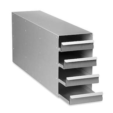 Image – Aluminum rack: 53 mm (2 in) drawer for 5-compartment freezers