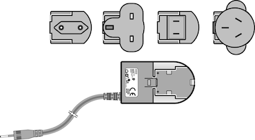 Image – 4986603005, Easypet 3, power supply with power plug adapters