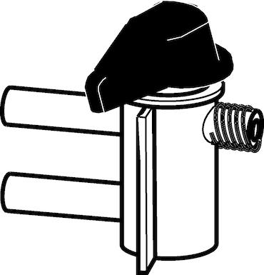 Image – 4965616000, Top Buret, Discharge valve