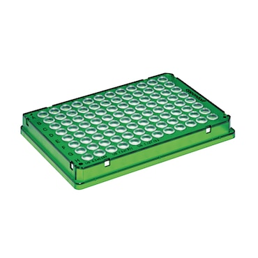 Image – twin.tec PCR Plate green 96 skirted