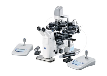 Image – workstation  TransferMan 4r_cell transfer_Zeiss