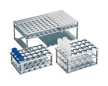 Racks for single test tubes for epMotion automated liquid handler