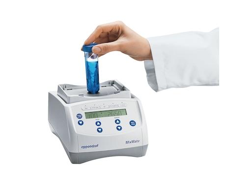 Eppendorf MixMate conical tube vortex