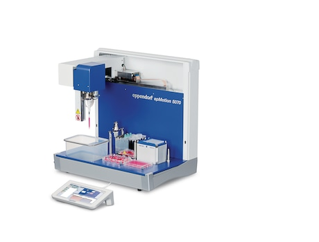 Image – epMotion 5070f for liquid handling tasks inside cell culture bench
