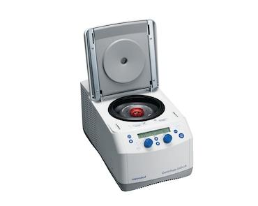 Image – Centrifuge 5424 R open knobs