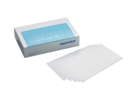 Eppendorf Storage Film, self-adhesive, PCR clean, 100 pcs. (2 bags × 50 pcs.)