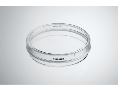 Eppendorf Cell Culture Dishes, 100 mm, Sterile, pyrogen-, DNase-, RNase-, human and bacterial DNA-free. Non-cytotoxic, TC Treated, 10.0 mL, 300 dishes (30 bags × 10 dishes)