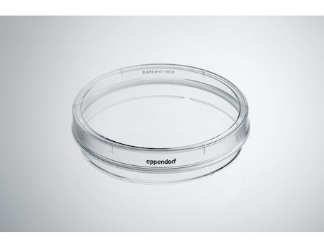 Eppendorf Cell Culture Dishes, 100 mm, Sterile, pyrogen-, DNase-, RNase-, human and bacterial DNA-free. Non-cytotoxic, Non-Treated, 10.0 mL, 300 dishes (30 bags × 10 dishes)