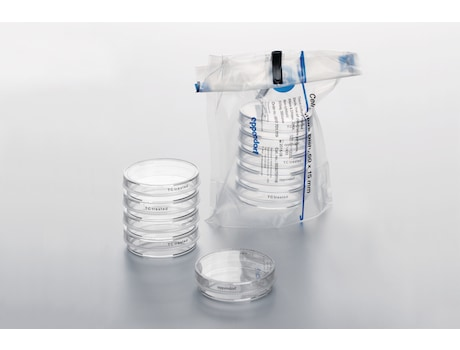 Image – Packaging Cell Culture Dish 60mm bag compressed with stack aside