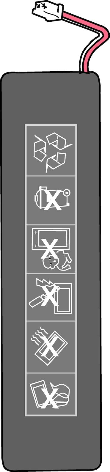 Image – 4861601000, Xplorer/Xplorer plus, Li-polymer accumulator