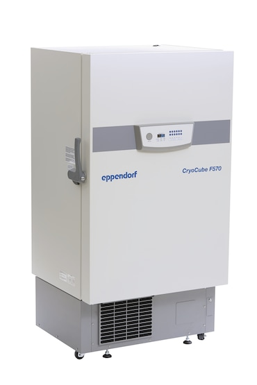 Eppendorf CryoCube F570 ULT freezer for storage of lab samples