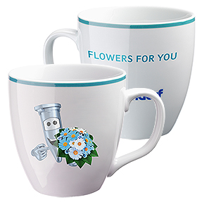 "Eppi collector's cup: ""Flowers for You"""