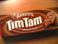 Tim Tams -4 x packets of tim tams