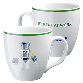 "Eppi collector's cup: ""Expert at Work"""