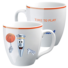 "Eppi collector's cup: ""Time to Play"""