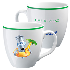 "Eppi collector's cup: ""Time to Relax"""