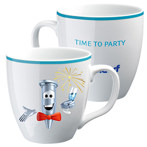 "Eppi collector's cup: ""Time to Party"""
