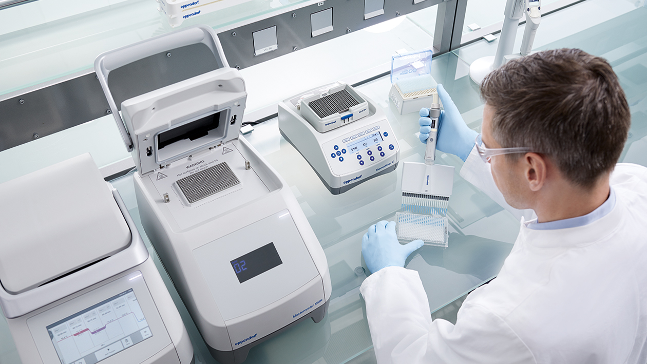 Eppendorf workflow solutions to support your SARS-CoV-2 research